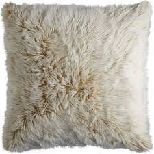 Pier One Decorative Pillows by 15 Budget Friendly Faux Fur Home Accents Hgtv U0027s Decorating