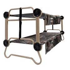 disc o bed cam o bunk realtree xtra extra large portable cot with