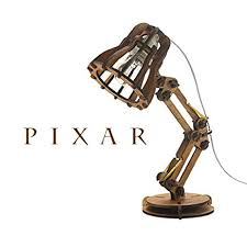 amazon com pixar l wooden luxo jr light home kitchen