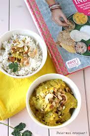 de cuisine indienne poulet korma et livre de cuisine indienne de sanjee