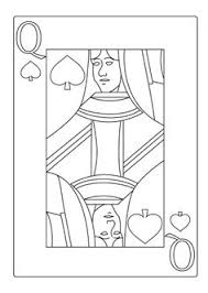 Queen Of Hearts Card Template
