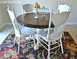 Press Back Chairs Oak by Wood Stain U0026 White Kitchen Table Woods Wood Stain And Kitchens