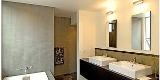 Industrial Modern Bathroom Mirrors by Bathrooms Design Bathroom Lighting Fixtures Modern Light Mirrors
