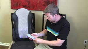 Massage Chair Pad Homedics by Homedics Shiatsu Back Massager Massaging Cushion Seat Review