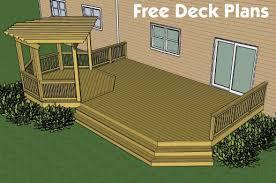 Stunning Deck Plans Photos by Backyard Deck Designs Plans Home Interior Design