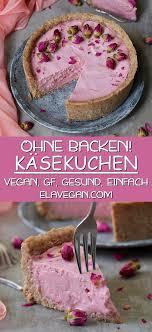 käsekuchen ohne backen vegan glutenfrei einfach