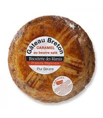 gâteau breton pur beurre caramel au beurre salé spécialité bretonne