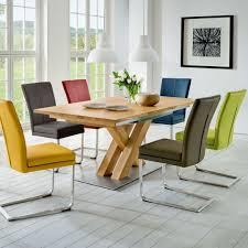 design säulentisch 3163 schwingstuhl colorado holztisch