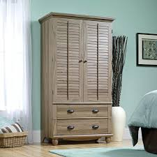 Sauder Shoal Creek Dresser Diamond Ash by Sauder Edge Water Computer Armoire Home Closet Wardrobe Storage