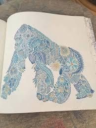 Coloring Ideas Gorilla BooksColouringAnimal