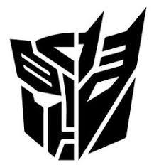 Bumblebee Transformer Pumpkin Stencil by Transformers Insignias Modern G1 Bayverse