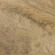 shop bedrosians 12 in x 12 in brown travertine floor tile at lowes