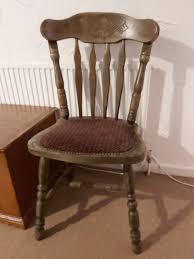 Vintage Handmade Oak Chairs