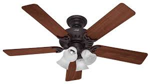 hunter 20183 52 inch studio series ceiling fan brushed nickel with