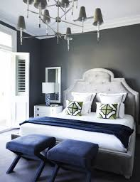 tips for styling bed pillows navy bedding light grey paint and