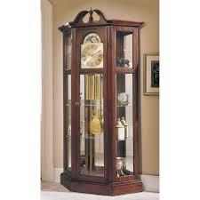 howard miller richardson i grandfather curio clock hayneedle