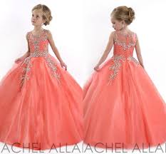 2017 toddler cheap girls pageant gowns flower dresses for