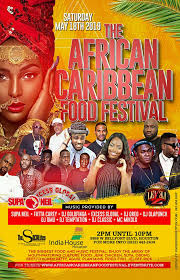 African And Caribbean Food Festival Tickets Sat May 18 2019 At 2