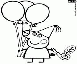 Peppa Pig George Pumpkin Stencil by Peppa Pig Coloring Pages Printable Games