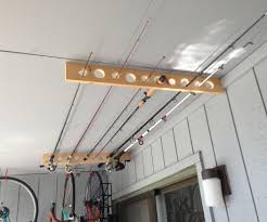 fishing pole storage great for apartment shed or garage 4