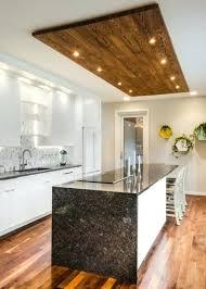 plafond de cuisine faux plafond cuisine la faux cuisine dans table cuisine sous led