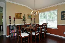 Dining Room Chair Rail Mesmerizing Paint Ideas For With On