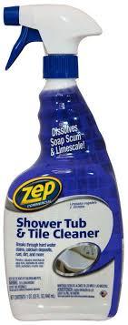 commercial zustt32pf shower tub tile cleaner 32 oz bottle