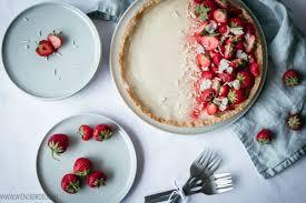 erdbeer weiße schokolade tarte