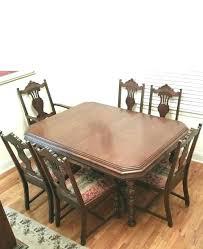 Antique Dining Room Set Furniture Unique Tables For Sale South
