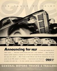 100 1937 Gmc Truck Ad Pontiac GMC S Cab Over Engine Models ORIGINAL