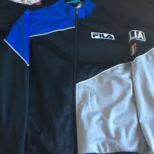 68 Off Fila Jackets Blazers