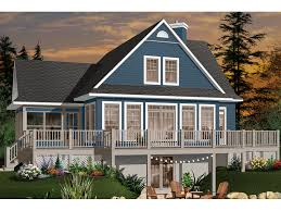 104 Water Front House Crestwood Lake Front Home Plan 032d 0686 Plans And More