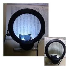 Lighted Full Page Magnifier Lamp by 16 Lighted Full Page Magnifier Lamp Magnitop 10x Lighted