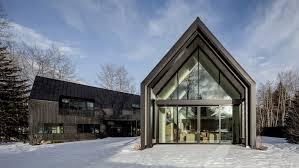 100 Studio B Home S VPlan House In Aspen Comprises Black Gabled Forms