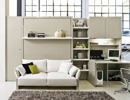 Transformable Murphy Bed Over Sofa Systems That Save Up Ample Space