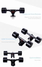 1 Pair Puente Skateboard Truck Durable Magnesium Alloy 7 Inch ...