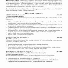 Sample Administrative Assistant Resume Summary Best Within For