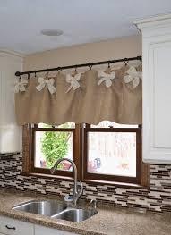 Find Kitchen Curtains Diy Best 25 Burlap Kitchen Curtains Ideas