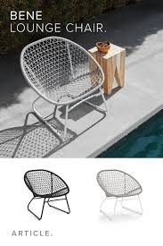 Outdoor Dining Chair - Article Bene Modern Outdoor Furniture ... Contemporary Lounge Chair Fabric Metal With Armrests Outdoor Ding Chair Article Bene Modern Fniture 70s Rattan Lounge Basket White Willow Armchair Peacock Shabby Chic Terrace Conservatory And Patio Down To Earth Living Chaise Cushions Tedxoakville Home Restoration Of A 1980s Eames Style Plycraft By Teun Velthuizen For Urotan 1950s 55270 Hai Mosaic Charcoal Hemcom Interior Luxorious Indoor Tufted Forest Fast Stylepark An Original Papa Bear Designed Hans Wegner