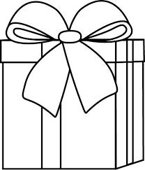 Present Black And White Birthday Present Clipart Black And White for Christmas Presents Clip Art Black