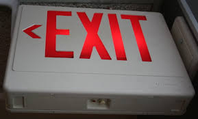 exit signs inefficient exit signs consider an led retrofit