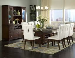 Dining Room Modern Sets For Small Spaces Metal Support Bracket With Turnbuckle Details Dark