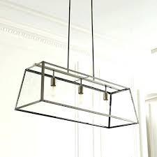 Rectangle Light Fixture Dining Room Rectangular Chandelier In Antique Bronze Lighting Recessed Ceiling Fixtures