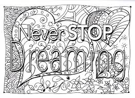 Quote Never Stop Dreaming
