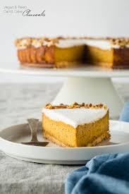 Gluten Free Carrot Cake Vegan Cheesecake