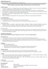 Sample Mechanical Engineer Resume Download Our Of Nice Objective Examples Image