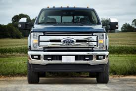 Ford Unveils 2017 Super Duty Trucks: Redesigned Aluminum Body ...