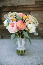Bridal Bouquet Field of Flowers Farm Michigan Wedding