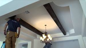100 Cieling Beams How To Install Faux Wood Ceiling