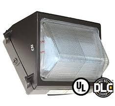 50w led wall pack light forward throw dlc listed solar led